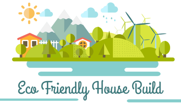 Eco Friendly House Build Infographic